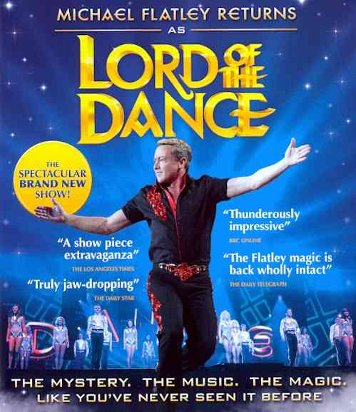 MICHAEL FLATLEY RETURNS AS LORD OF TH BY FLATLEY,MICHAEL (Blu-Ray)